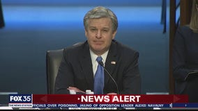 FBI Director Christopher Wray appear before Senate