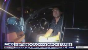 New video of Johnny Damon's arrest