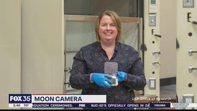 UCF professor teams up with NASA to create camera going to the moon