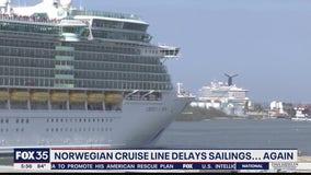 Norwegian Cruise Line delays sailings