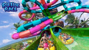 Florida's first-ever dueling racer waterslide to open at Aquatica Orlando