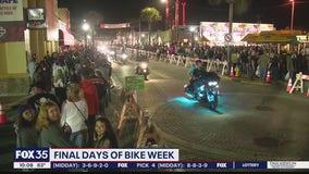 Finals days of  Bike Week 2021