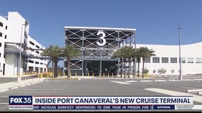 Inside Port Canaveral's new cruise terminal