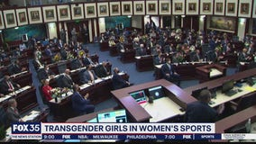 Florida lawmakers consider banning transgender female athletes from sports