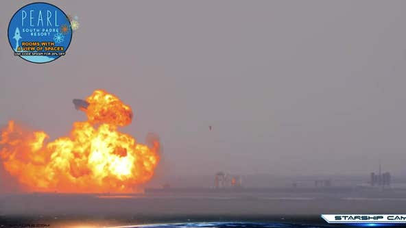 SpaceX's Starship SN10 explodes after successful landing