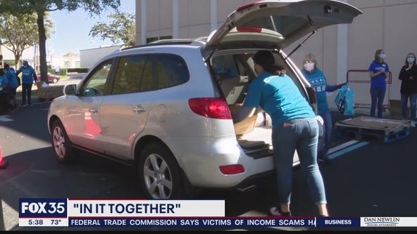 Second Harvest Food Bank's 'In it Together' campaign
