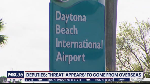 Threats at airport appear to come from overseas