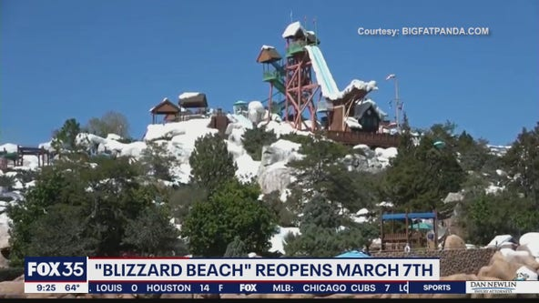 Disney's Blizzard Beach water park reopens March 7