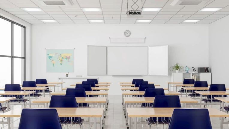 2987ce40-Empty classroom