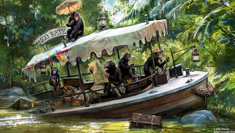 disney jungle cruise update