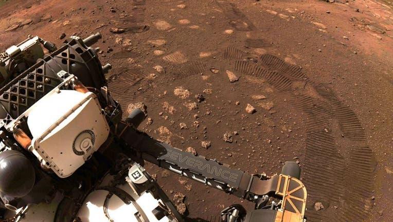 nasa preserverance rover mars