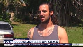 Good Samaritan stops attack, police say