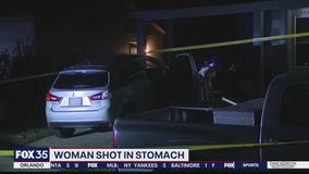 DeLand woman shot in stomach while driving home