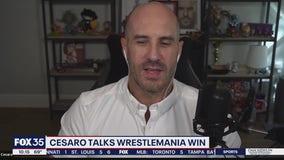 Cesaro talks WrestleMania win