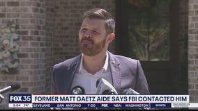 Former aide to Matt Gaetz says FBI contacted him
