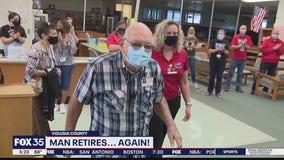 Substitute teacher, 88, marks second retirement