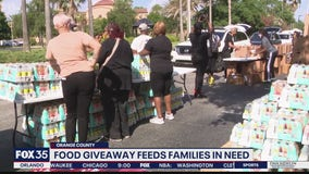 Food giveaway feeds families in need