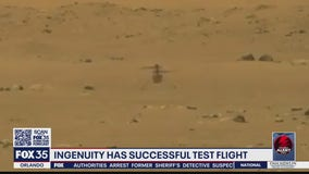 Ingenuity helicopter successful test flight