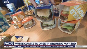 White Castle opens on May 3 in Orlando