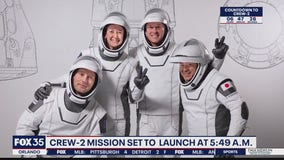Crew-2 mission set to launch before sunrise