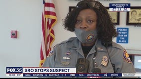 School resource officer stops armed robbery suspect