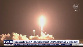 NASA, SpaceX successfully launch Crew-2 mission