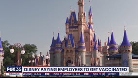 Disney paying employees to get vaccinated