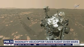 NASA's helicopter Ingenuity set for first test flight this weekend