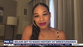 Belair set to make history at WrestleMania