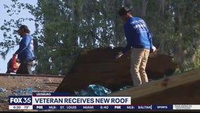 Veteran receives new roof