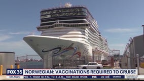 Norwegian says vaccinations will be required to cruise