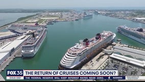 Port Canaveral welcomes news that sailings could return sooner than later