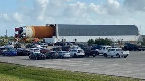 NASA's SLS rocket moves to Vehicle Assembly Building