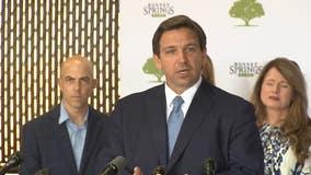 DeSantis says he doesn't favor raising Florida's unemployment benefits