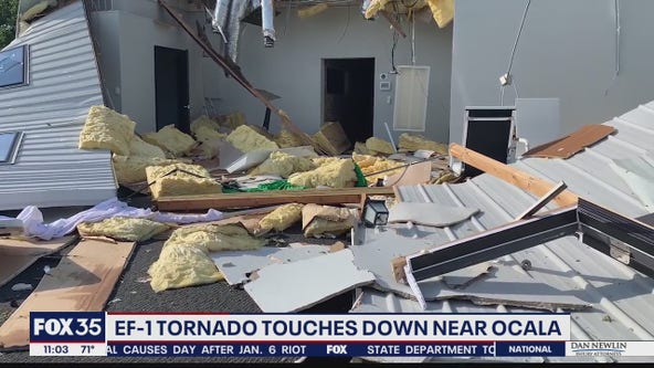 EF-1 tornado touches down near Ocala