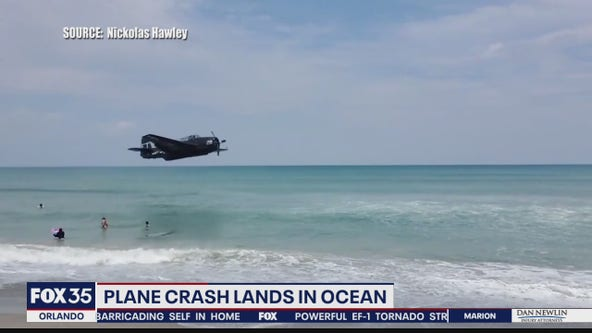 WWII plane pilot hailed a hero after emergency landing in Cocoa Beach