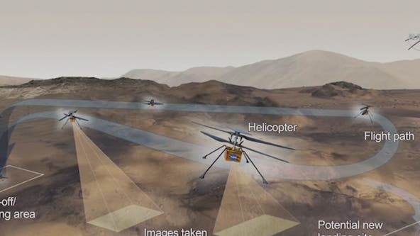 NASA's helicopter Ingenuity delays first test flight until next week