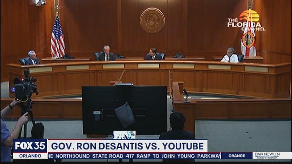 DeSantis assails YouTube over removal of COVID-19 video