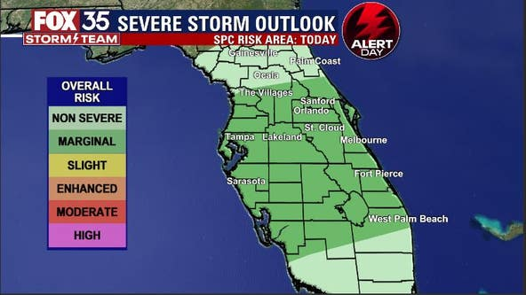 FOX 35 Storm Alert Day: Here's when storms could impact your area