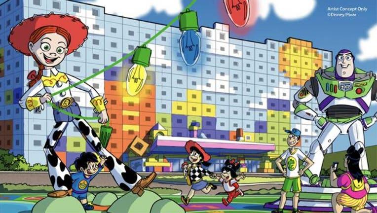 DISNEY PARKS tokyo disney toy story hotel 040721