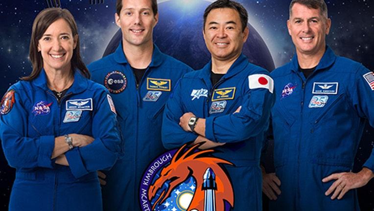 NASA crew 1 portriat 041421