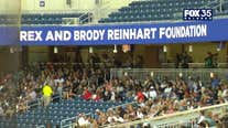 Memorial service for Rex and Brody Reinhart