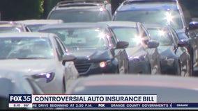 Controversial auto insurance bill on governor's desk