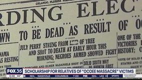 Scholarship fund for relatives of 'Ocoee Massacre'
