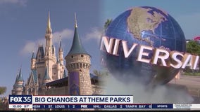 Theme parks to drop temperature checks