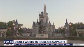 Disney World to increase capacity
