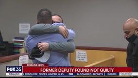Former deputy found not guilty