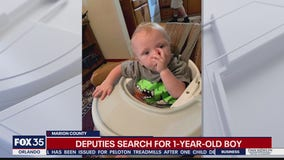 Deputies search for missing toddler