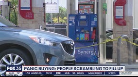 Experts say 'panic buying' leading to gas shortages