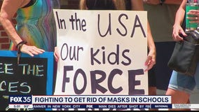 Parents fight to end masks in schools